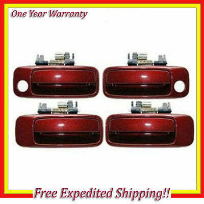 Right For 97-01 Toyota Camry Burgundy 3N6 DH37 Outside Door Handle Front Left