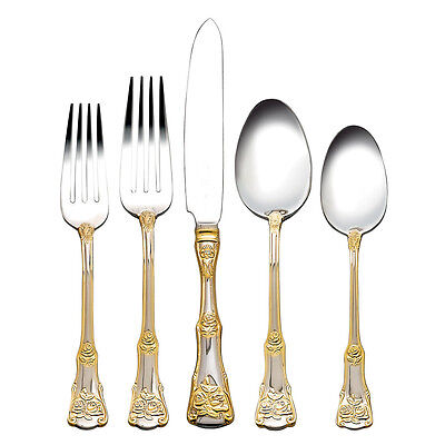 Royal Albert Old Country Rose 20Pc Cutlery Set Rrp$249.00