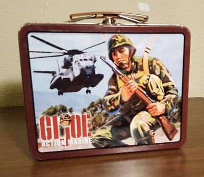 GI Joe Action Marine Lunch Box