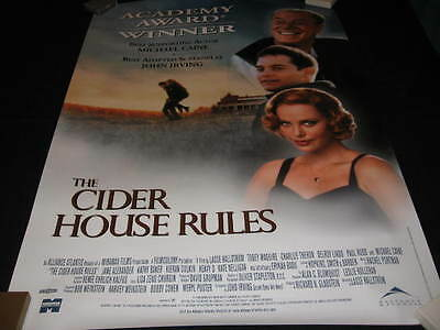 Cider House Rules Poster Maguire Charlize Theron Delroy Lindo Rudd J.k. Simmons