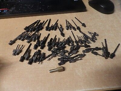 LOT OF NOS Drill Bits Threaded & Quick Change Bits  Aviation Aircraft 5 POUNDS