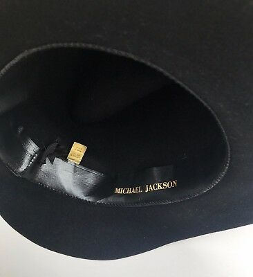 MICHAEL JACKSON AUTHENTIC PERSONAL  FEDORA HAT  no signed