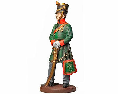 Tin Soldier - Hussar Regiment Officer, Baden (Napoleonic Wars), 1/32 54 mm