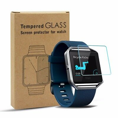 3 PCS Premium Tempered Glass Protective Film Smarrt Watch Screen Protector for F