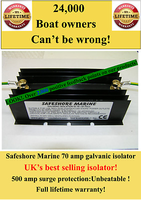 Safeshore Galvanic isolator :Minor cosmetic flaws:Normally £75.94 LOOK : £59.94!