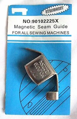 Magnetic Seam Guide for all sewing machines with VERY strong magnet