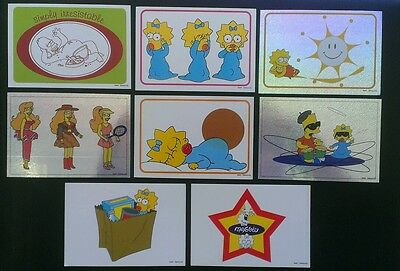 1999 The Simpsons Panini Stickers Homer Etc (8)