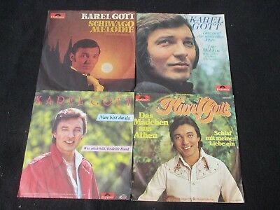 Single-Sammlung - Karel Gott - 4 Singles