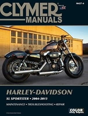 Harley Davidson Sportster Forty-Eight XL1200 XL1200R 04-13 Clymer Manuale M4274