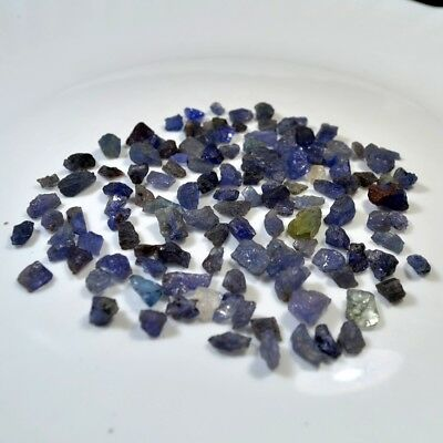 Natural Tanzanite Nice Quality 500 Ct Scoop Small Size Raw Rough Loose Gemstones