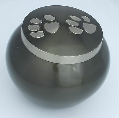 Pet Urn for Ashes Paw Print Dog Cat Pet Cremation Funeral Memorial Urn 2 sizes