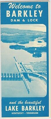 1967 Barkley Dam & Lock Promotional Brochure