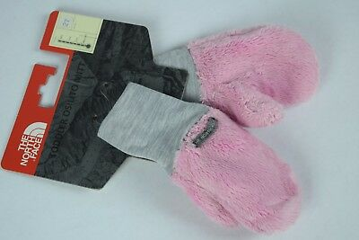 NWT! North Face Toddler Girls Osilito Mittens SAMPLES sz 2T Pink winter snow