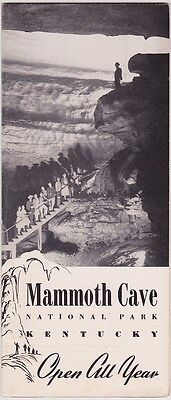 1947 Mammoth Cave National Park Brochure