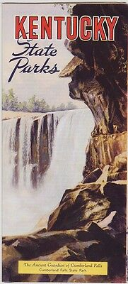 1930's Kentucky State Parks Promotional Brochure