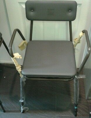 Standard adjustable Height chair Commode