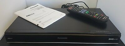 Panasonic DMR-HW120 HDMI Freeview+ TV Receiver 500GB HDD Recorder & Remote