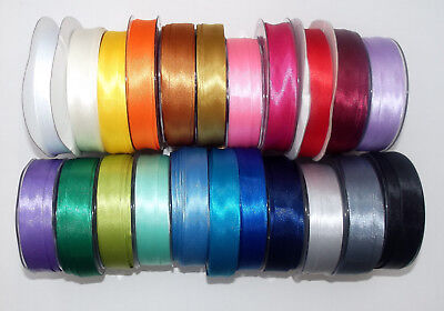 18mm Neon Satin Bias Binding Tape Trim 5m//25m Wholesale Fluorescent Colours