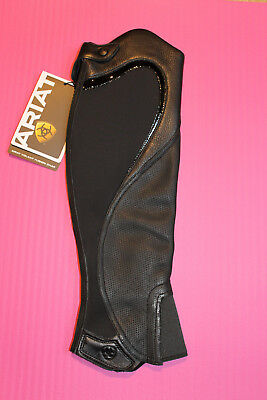 Ariat Volant Fusion Black Chap ~ St Small-Tall