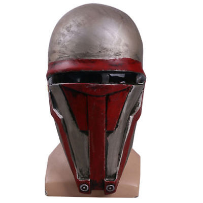 Star Wars Mask Cosplay Darth Revan Helmet Masks Adult Latex Halloween Party Prop