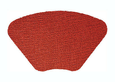 Merritt International Fishnet Placemat 19in x13in Wedge - Rustic Red
