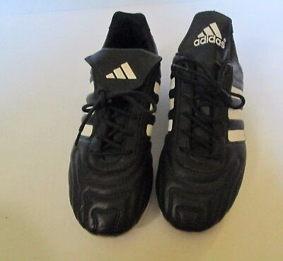 adidas Women's Soccer Cleats Size 6 Vintage Style Black and White