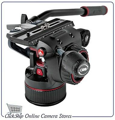 Manfrotto MVHN8AH Nitrotech N8 Video Head * NEW Continuous Counterbalance System