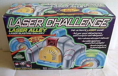 New In Sealed Box 1997 Toymax Laser Challenge Laser Alley Blasting Gallery 80526