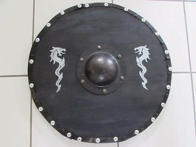 Viking Dragon Shield New, handmade