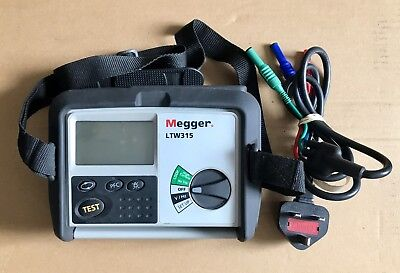 Megger LTW315 Loop Tester with Leads