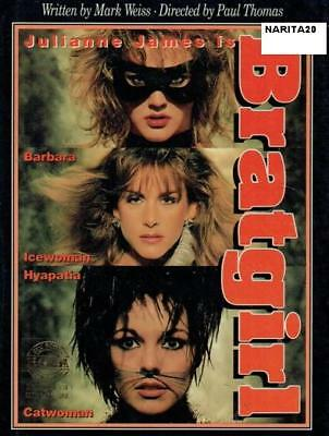 BRATGIRL / BARBARA DARE German Language HYAPATIA LEE - Rare VHS + Free DVDR
