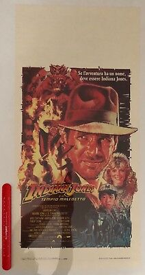 INDIANA JONES AND THE TEMPLE OF DOOM - Vintage Original Spanish Poster 1984