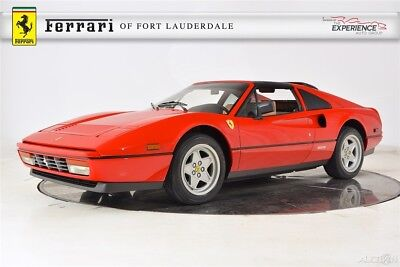 1986 Ferrari 328 GTS Classiche Certification Very Low Miles Serviced Maintained Excellent Condition Highly Collectible