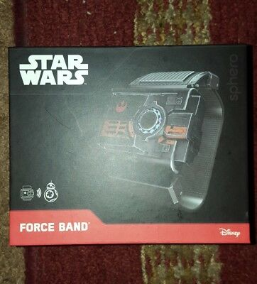 Star Wars Sphero Force Band (Controls sphero BB-8) New other.....