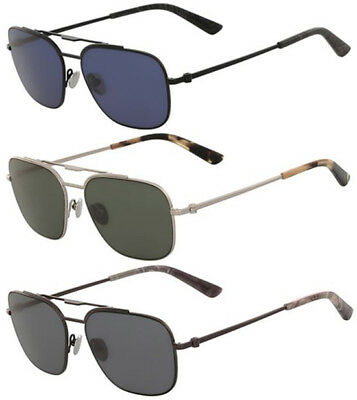 Calvin Klein Collection Men's Stainless Steel Sunglasses Made in Italy CK8037S