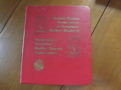 United States Federation of Amateur Roller Skaters - Manuals 1970's