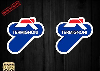 Sticker Kit Termignoni Escapes Exhaust Vinyl Bumper Sticker Pegatina Aufkleber