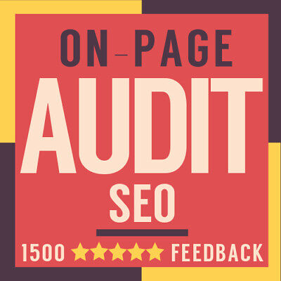 Website Audit On Page SEO Checker - Find SEO Problems On Your Page