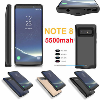 New Power Case Extended External Battery Bank Charger For Samsung Note 8 Usa