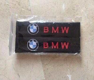 BRAND NEW Car Seat Belt Shoulder Pad Pair 2 pieces Covers Cushion for BMW