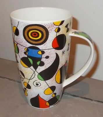 "Dunoon MODERN ART ""Style of MIRO""  large Mug  Excellent"
