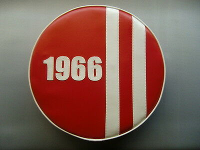 1966 England Stripe Scooter Wheel Cover