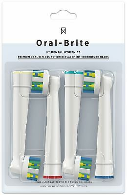 Bestselling Floss Action Replacement Head for Oral-B Braun Electric Toothbrush