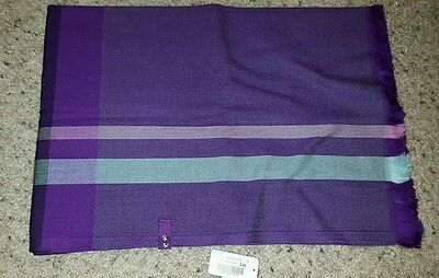 NWT Ivivva Lululemon Wrap Up And Go Scarf in Purple/Pink/Gray Multi-Color IU9015