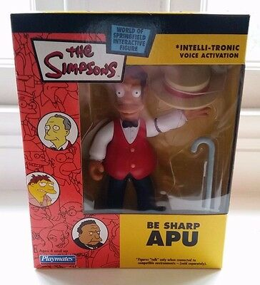 The Simpsons World of Springfield: Be Sharp APU interactive figure - MINT RARE