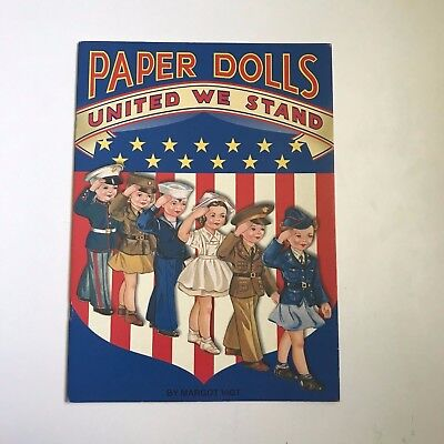 United We Stand Paper Dolls Booklet