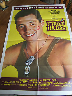 Biloxi Blues - 1988 - Original Australian one sheet