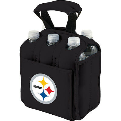 Picnic Time Pittsburgh Steelers Six Pack - Pittsburgh Outdoor Accessorie NEW