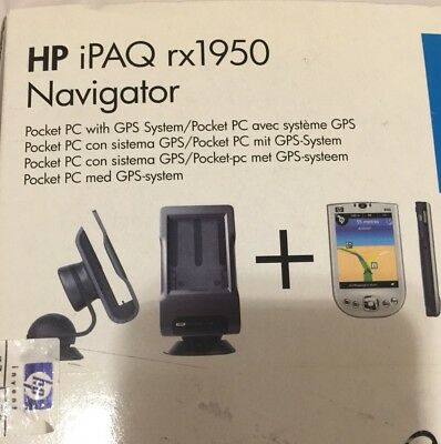 Palmare Pocket Pc Hp -Ipaq Rx1950- Gps Michelin Windows 5.0. Premium