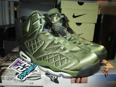 e753fabde95 2017 NEW AIR Jordan 6 Retro Pinnacle Snl Ah4614 303 Palm Green Sz 8 ...